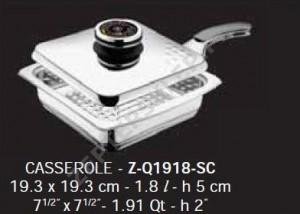 Naczynie QUADRA Griller Zepter 1,8l 19x19 cm Z-Line