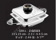 Naczynie QUADRA Griller 2,3l 23x23 cm Z-Line Zepter