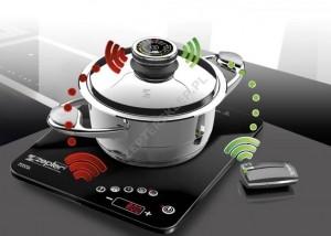 Kuchenka indukcyjna ze sterowaniem radiowym + GRATIS Zepter