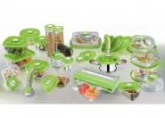 Pojemnik szklany VacSy Green Zepter 1,5 l 12 x 20 x 8,5 cm