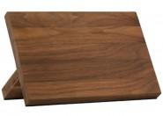 Magnetyczny stojak na noże lite drewno orzech włoski Zepter