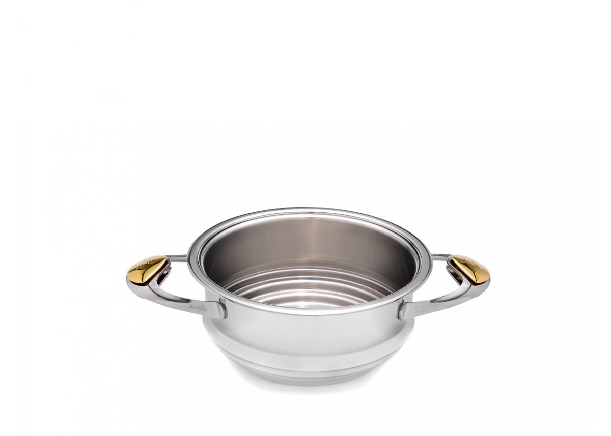 Durszlak, naczynie do gotowania na parze Zepter 20 cm Z-Line