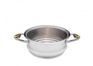 Durszlak, naczynie do gotowania na parze Zepter 24 cm Z-Line