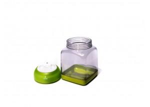 Pojemnik poliwęglanowy do przypraw VacSy Green Zepter 0,45 l