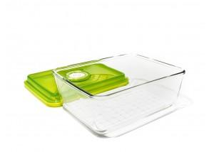 Pojemnik szklany VacSy Green Zepter 3,8 l 20 x 26 x 9,5 cm