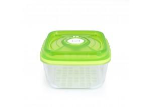 Pojemnik szklany VacSy Green Zepter 1,1 l 15 x 15 x 8,5 cm