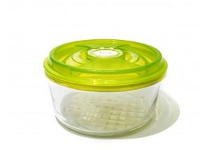 Pojemnik szklany VacSy Green Zepter 3,3 l 23 x 10,5 cm