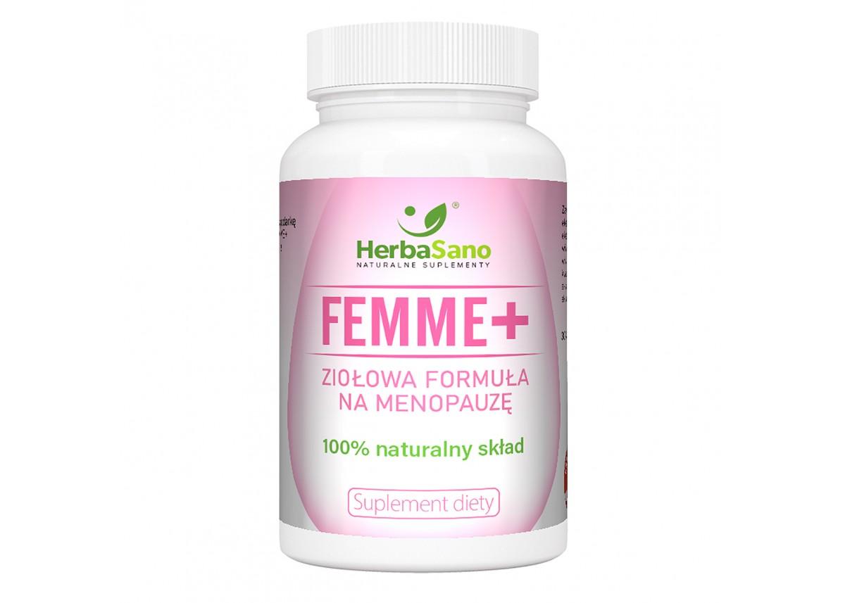 Femme+ ziołowa formuła na menopauzę
