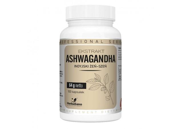 Ashwagandha ekstrakt Indyjski Żeń-szeń