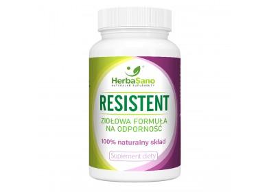 Resistent ziołowa formuła na odporność